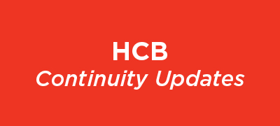 HCB Continuity Updates